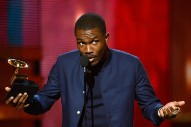 "Frank Ocean Blasts ""Old"" Grammy Producers In Angry Tumblr Post"