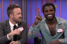 Gucci Mane and Aaron Paul