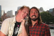 Dave Grohl Hits The Studio With Josh Homme And Jesse Hughes