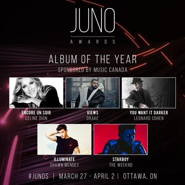 Juno 2017 AOTY