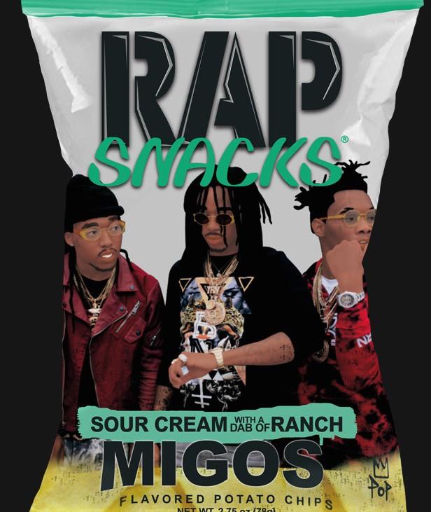 Migos rap snacks