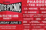 Roots Picnic 2017 Lineup