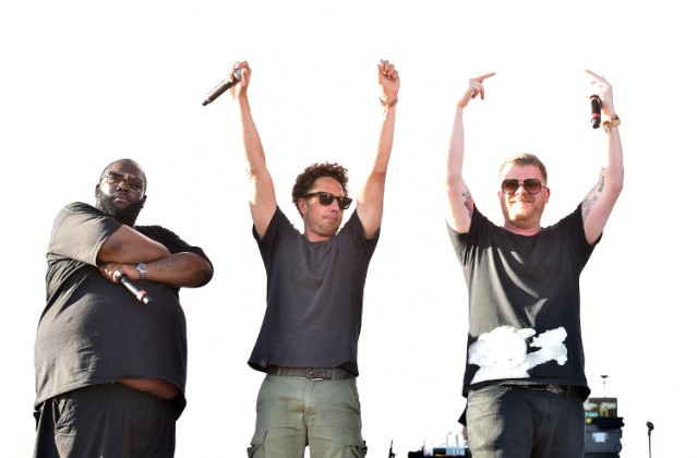 Run The Jewels and Zack De La Rocha