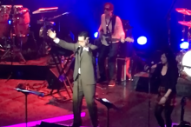 "Watch Stephen Colbert Cover Talking Heads' ""Once In A Lifetime"" At Montclair Film Festival Fundraiser"
