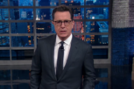 Watch Stephen Colbert Joke About Moby's Donald Trump Intel