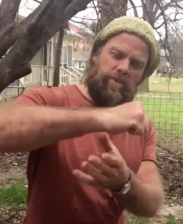 Thor Harris Nazi punch