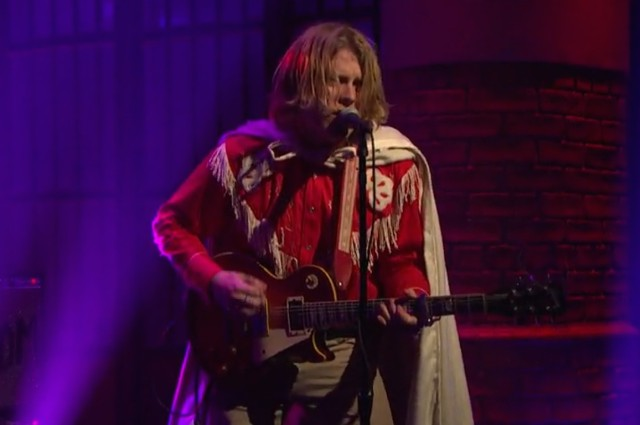 Ty Segall on Seth Meyers