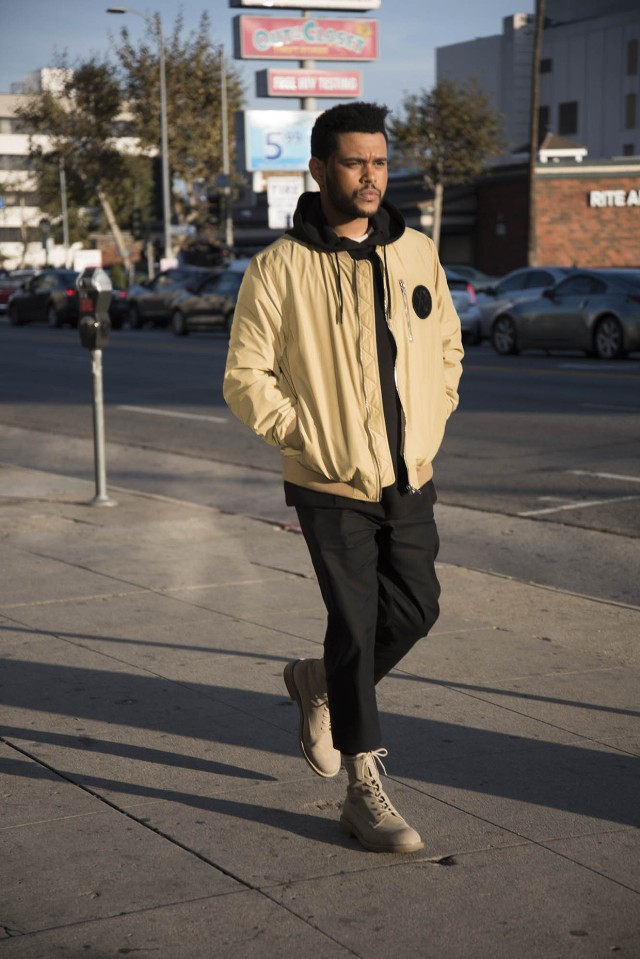"2137e1fea The Weeknd Unveils H&M Line: ""Bomber Jackets Are Smart, But They Are ..."