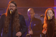 Watch Flo Morrissey &#038; Matthew E. White Cover &#8220;Grease&#8221; On <em>Colbert</em>