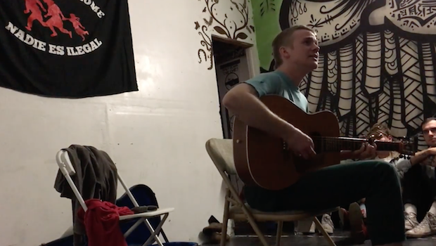 Watch Pinegrove's Evan Stephens Hall Play New Song At Solo Show In La Puente