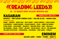 Eminem, Kasabian, Muse Headline Reading & Leeds 2017