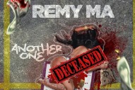 "Remy Ma Drops ""Another One"" With Artwork Depicting A Murdered Nicki Minaj"
