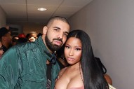Watch Nicki Minaj Join Drake In Paris