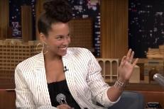 Alicia Keys on The Tonight Show