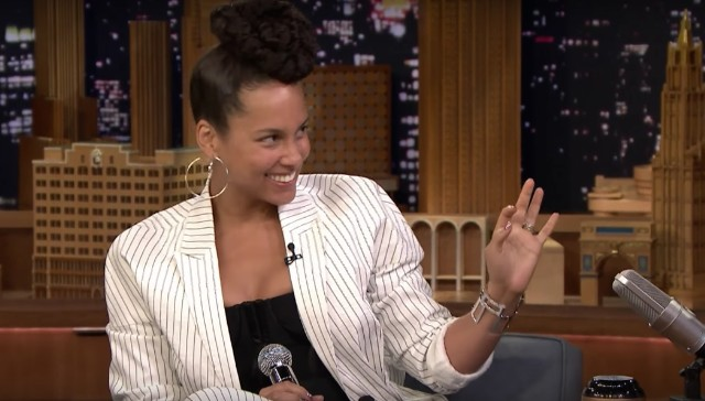 Alicia Keys on The Tonight Show