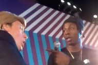 Donald Trump Impersonator Sues Joey Bada$$ For Shoving Him Offstage