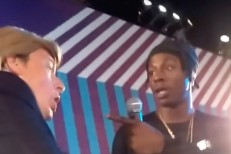 Joey Badass and fake trump