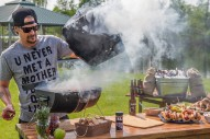 "Kid Rock Launches New ""American Badass"" Grill By Shooting Foreign-Made Grills Out Of The Sky"