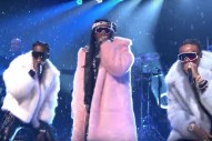 Watch Migos Join The Roots For A Pair Of Ridiculous <em>Tonight Show</em> Performances
