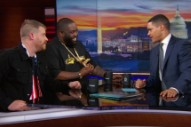 Watch Run The Jewels Talk Weed, Bernie Sanders, <em>Meow The Jewels</em> On <em>The Daily Show</em>