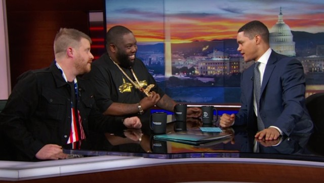 Run The Jewels and Trevor Noah