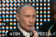 "Vladimir Putin ""Sings"" Radiohead"