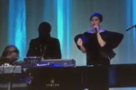 Lady Gaga, Stevie Wonder, & Ryan Adams Play Elton John's 70th Birthday Party