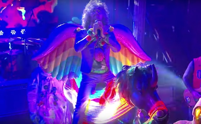 The Flaming Lips on Colbert