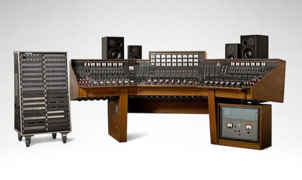 dark side of the moon recording console sells for 1 8m stereogum. Black Bedroom Furniture Sets. Home Design Ideas
