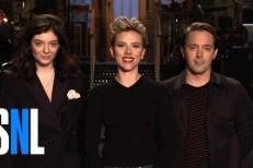 Lorde Drops <em>SNL</em> Promo With Scarlett Johansson