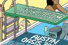 Stereogum Austin Oasis @ SXSW 2017 Poster
