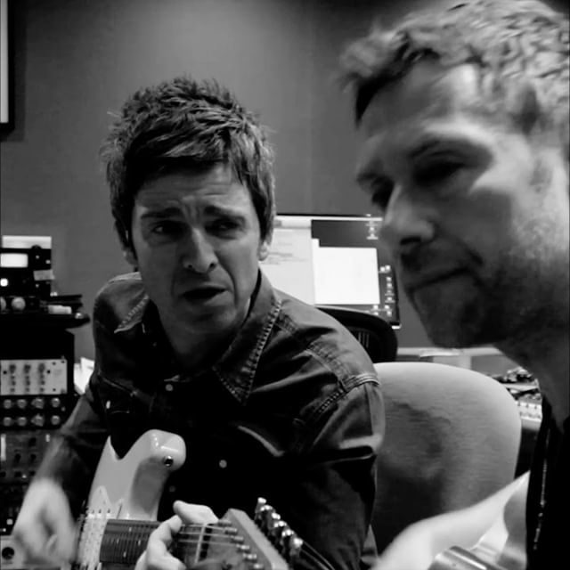 Noel Gallagher & Damon Albarn