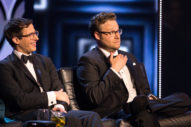 "Seth Rogen, Lonely Island Hint At Movie About Music Fest That Goes ""Horribly Wrong"""