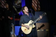 Watch Eddie Vedder Perform With Belly, Letters To Cleo, & Buffalo Tom Members At Hot Stove, Cool Music Benefit
