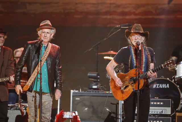 Keith Richards,Willie Nelson