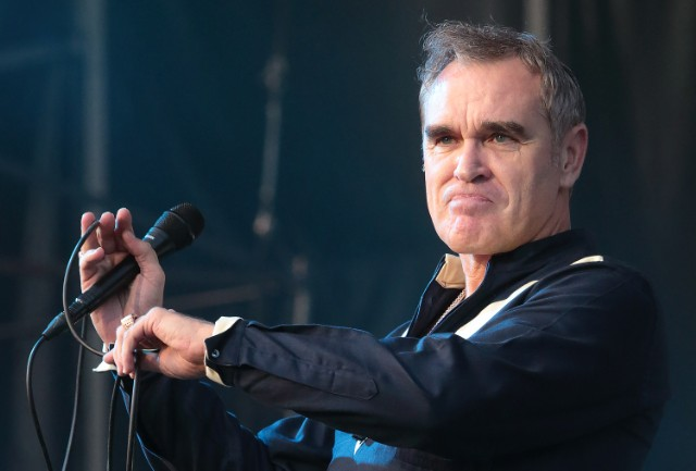 Morrissey cancels US concert because of 'health concerns'