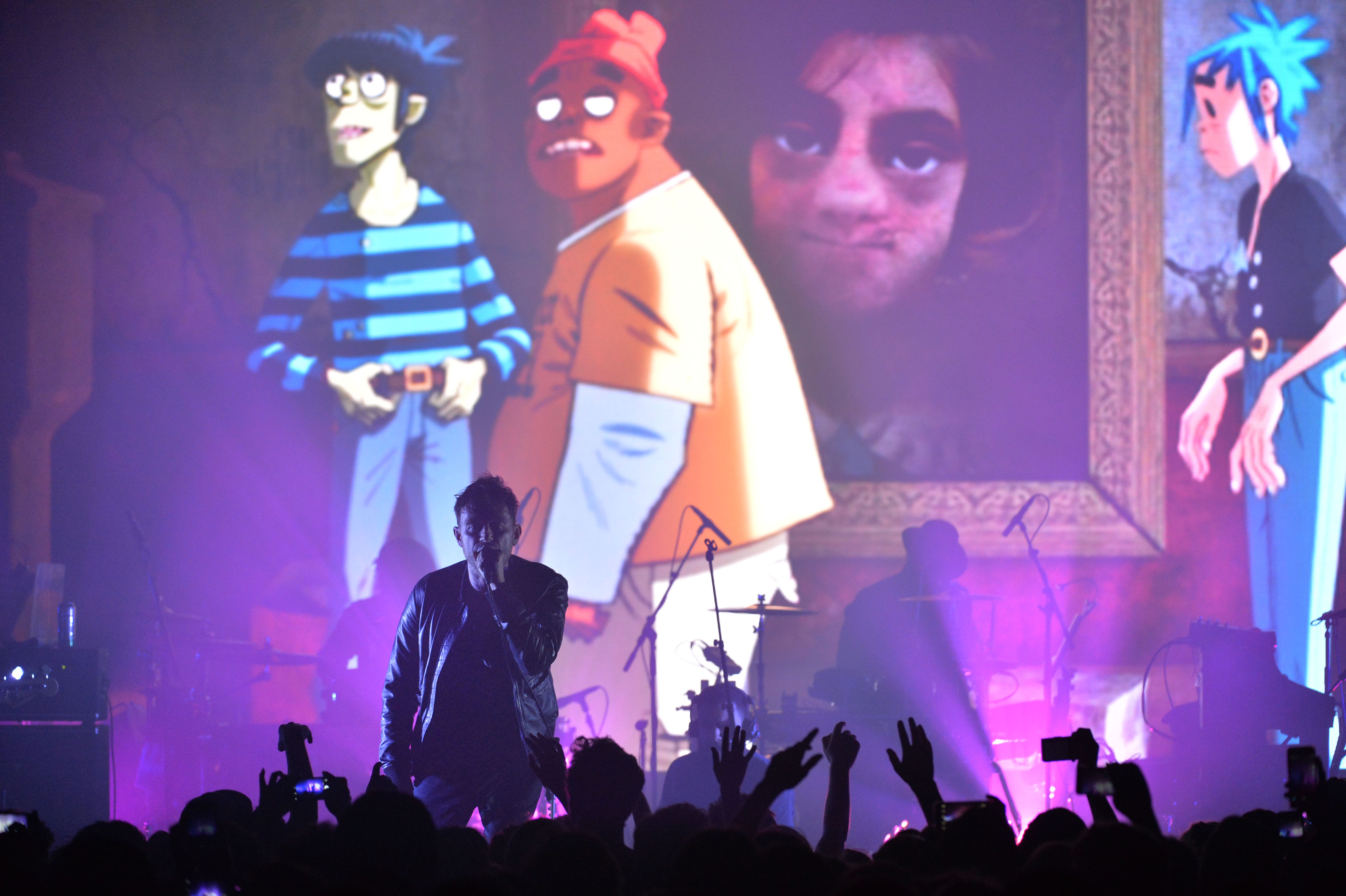 Watch Gorillaz Play All Of Humanz With Special Guests In Brooklyn