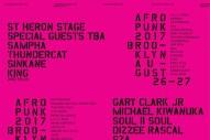 Afropunk Brooklyn 2017 Lineup