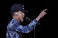 "Watch Chance The Rapper Perform Kanye West's ""Waves"" At San Diego Tour Opener"