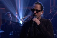 Watch Chris Cornell, With Matt Cameron &#038; An Orchestra, Sing &#8220;The Promise&#8221; On <em>The Tonight Show</em>