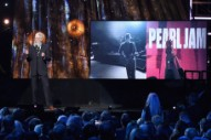 Watch David Letterman Induct Pearl Jam Into The Rock & Roll Hall Of Fame
