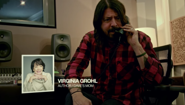 Watch Dave Grohl Call His Mom To Complain About Her New Book