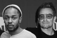 Kendrick Lamar and U2