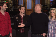 Watch Louis C.K. Burn The Chainsmokers In Their <em>SNL</em> Promo