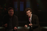 Watch Jimmy Fallon &#038; Harry Styles&#8217; Snazzy <em>SNL</em> Promos