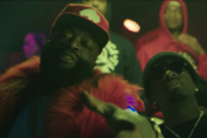 "Rick Ross – ""She On My Dick"" (Feat. Gucci Mane) Video (NSFW)"
