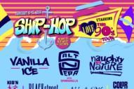 Vanilla Ice, Salt-N-Pepa, Naughty By Nature Headline '90s Rap Cruise