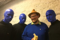 Dan Deacon Meets Blue Man Group