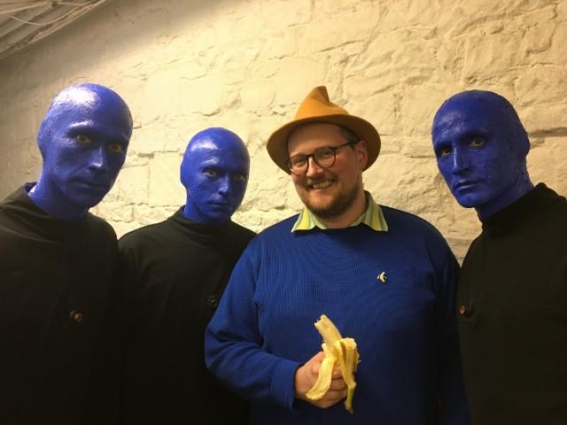 Dan Deacon Meets Blue Man Group
