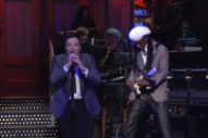 Watch Jimmy Fallon Sing David Bowie&#8217;s &#8220;Let&#8217;s Dance&#8221; With Nile Rodgers On <em>SNL</em>